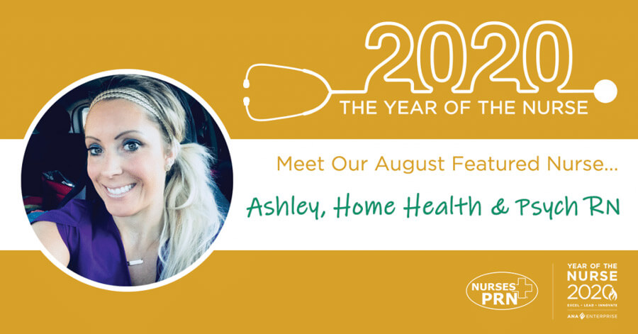 August featured nurse photo
