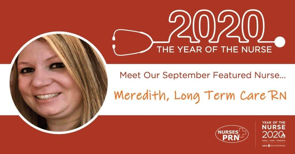 Meredith  September FB post photo